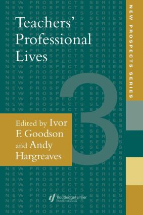Teachers' Professional Lives (Paperback) book cover