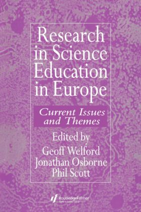 Research in science education in Europe: 1st Edition (Paperback) book cover