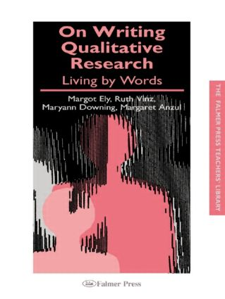On Writing Qualitative Research: Living by Words book cover