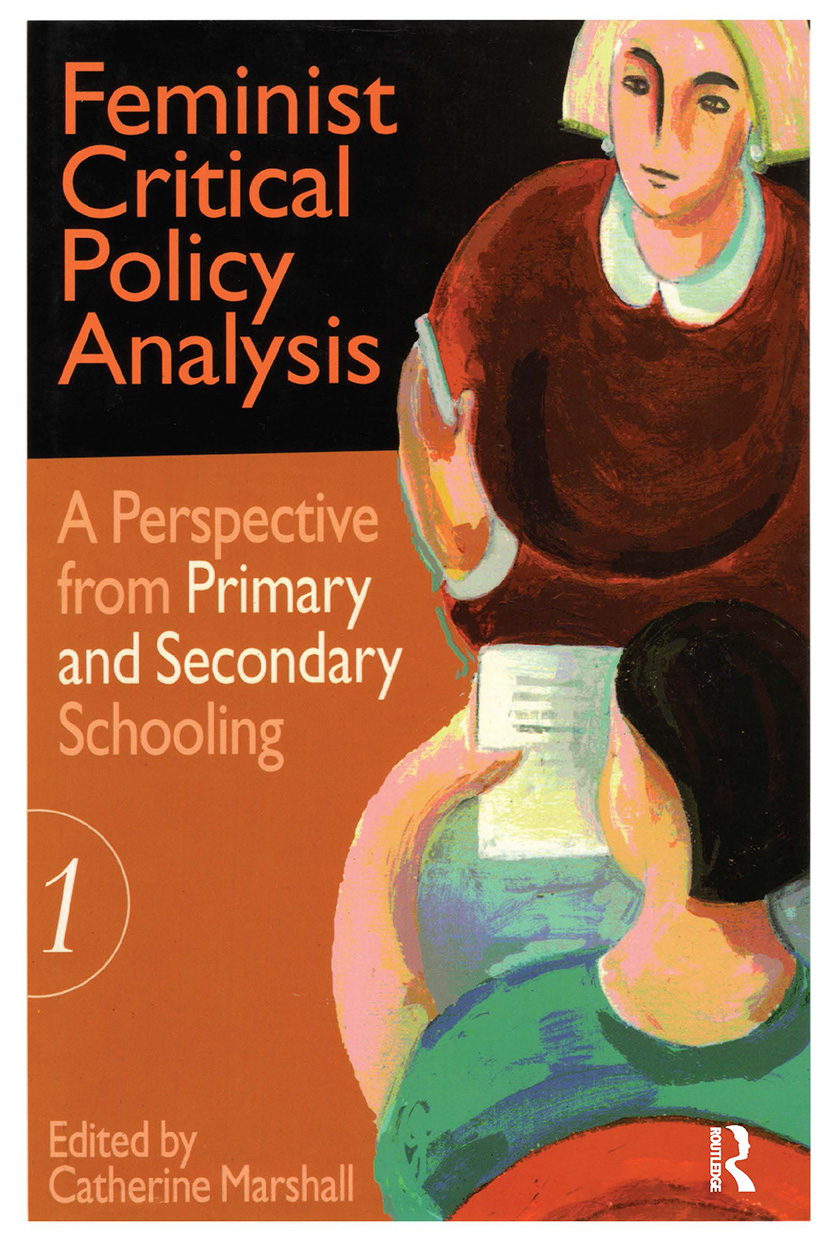 Feminist Critical Policy Analysis I: 1st Edition (Hardback) book cover
