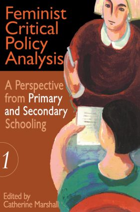Feminist Critical Policy Analysis I: 1st Edition (Paperback) book cover
