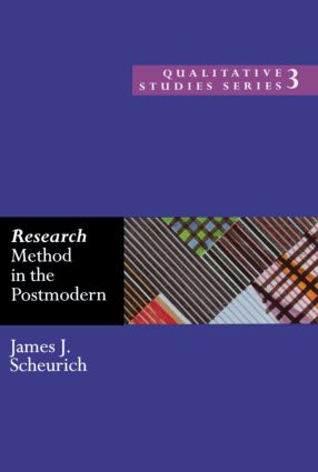 Research Method in the Postmodern: 1st Edition (Paperback) book cover