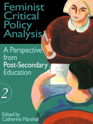 Feminist Critical Policy Analysis II: 1st Edition (Hardback) book cover