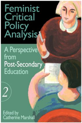 Feminist Critical Policy Analysis II: 1st Edition (Paperback) book cover