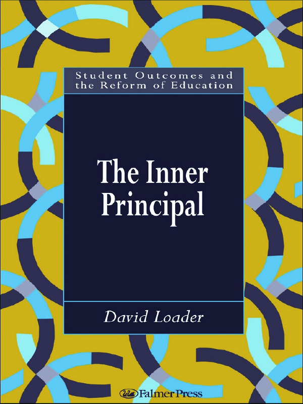 The Inner Principal: 1st Edition (Hardback) book cover