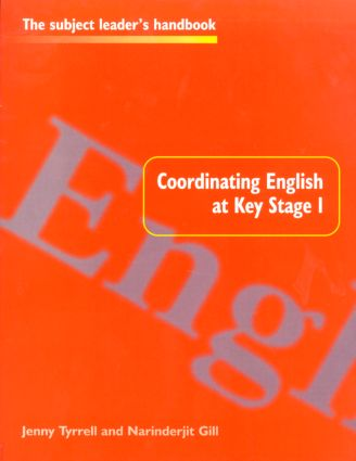 Coordinating English at Key Stage 1 book cover