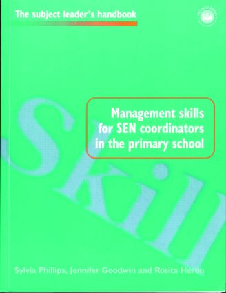 Management Skills for SEN Coordinators in the Primary School book cover