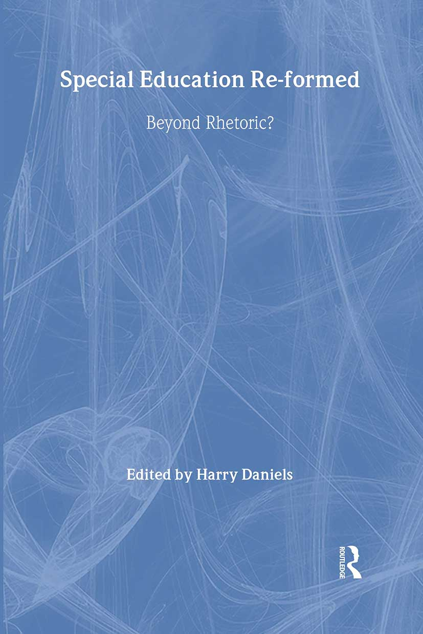 Special Education Reformed: Inclusion - Beyond Rhetoric? (Paperback) book cover