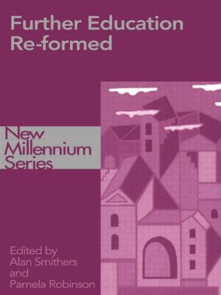 Further Education Re-formed: 1st Edition (Paperback) book cover
