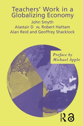 Teachers' Work in a Globalizing Economy (Paperback) book cover
