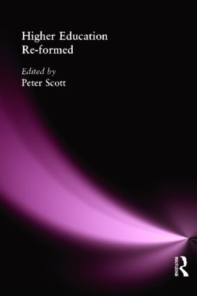 Higher Education Re-formed: 1st Edition (Paperback) book cover