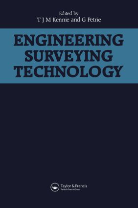 Engineering Surveying Technology: 1st Edition (Paperback) book cover