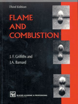 Flame and Combustion: 3rd Edition (Paperback) book cover