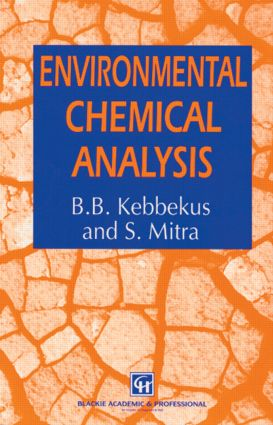 Environmental Chemical Analysis: 1st Edition (Paperback) book cover