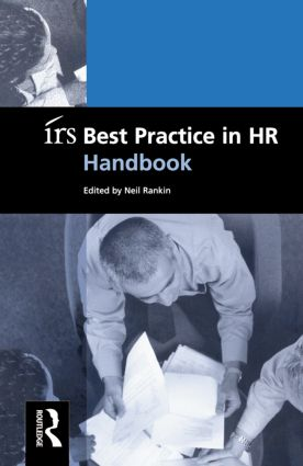irs Best Practice in HR Handbook: 1st Edition (Paperback) book cover