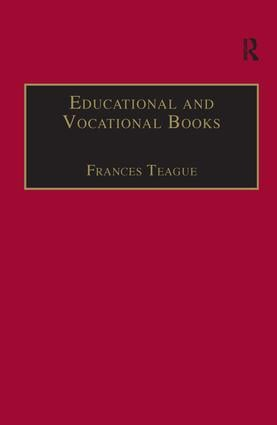 Educational and Vocational Books: Printed Writings 1641–1700: Series II, Part One, Volume 5, 1st Edition (Hardback) book cover
