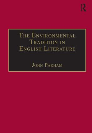 The Environmental Tradition in English Literature book cover