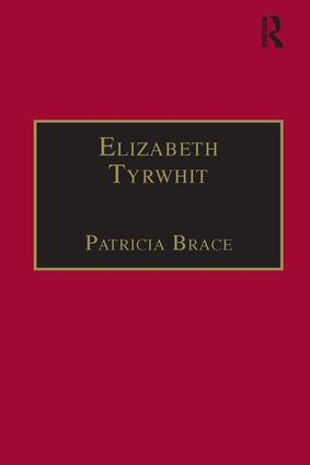 Elizabeth Tyrwhit: Printed Writings 1500–1640: Series I, Part Three, Volume 1 book cover