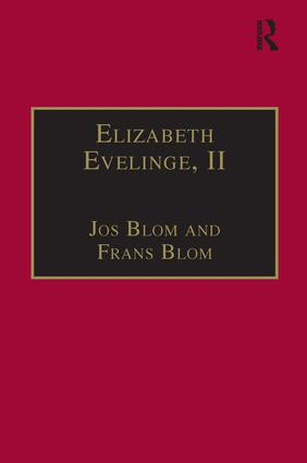 Elizabeth Evelinge, II: Printed Writings 1500–1640: Series I, Part Three, Volume 5 book cover