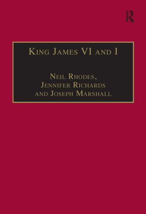 King James VI and I: Selected Writings, 1st Edition (Hardback) book cover