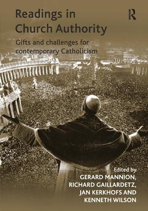 Readings in Church Authority: Gifts and Challenges for Contemporary Catholicism, 1st Edition (Hardback) book cover