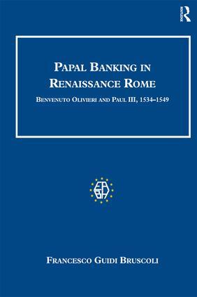 Papal Banking in Renaissance Rome