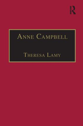 Anne Campbell: Printed Writings 1500–1640: Series I, Part Four, Volume 4, 1st Edition (Hardback) book cover