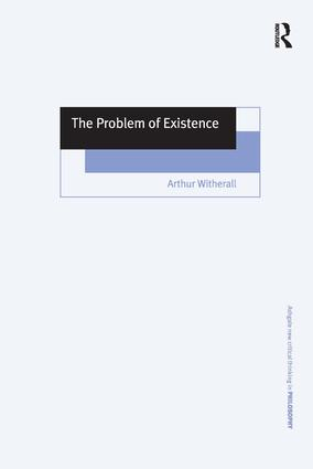 The Problem of Existence book cover