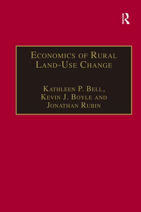 Economics of Rural Land-Use Change book cover