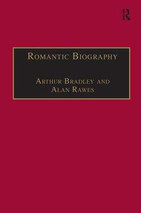 Romantic Biography: 1st Edition (Paperback) book cover