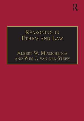 Reasoning in Ethics and Law: The Role of Theory Principles and Facts book cover