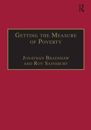 Getting the Measure of Poverty: The Early Legacy of Seebohm Rowntree book cover