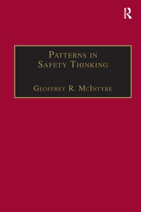 Patterns In Safety Thinking: A Literature Guide to Air Transportation Safety, 1st Edition (Hardback) book cover