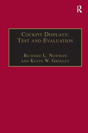 Cockpit Displays: Test and Evaluation: 1st Edition (Paperback) book cover