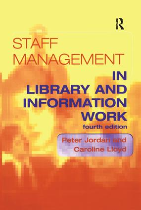 Staff Management in Library and Information Work book cover