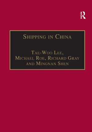 Shipping in China: 1st Edition (Paperback) book cover