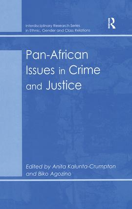 Pan-African Issues in Crime and Justice: 1st Edition (Hardback) book cover