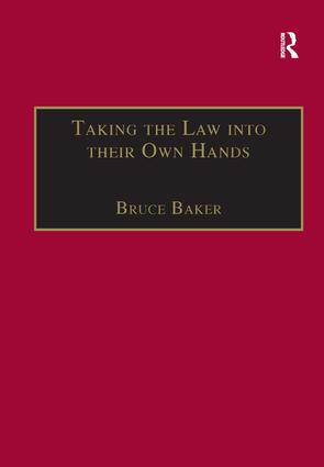 Taking the Law into their Own Hands: Lawless Law Enforcers in Africa book cover