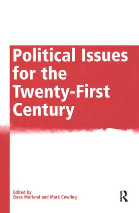 Political Issues for the Twenty-First Century: 1st Edition (Hardback) book cover