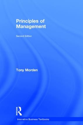 Principles of Management: 2nd Edition (Hardback) book cover