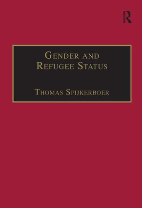 Gender and Refugee Status (Hardback) book cover