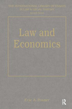 Law and Economics book cover