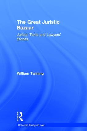 The Great Juristic Bazaar: Jurists' Texts and Lawyers' Stories book cover