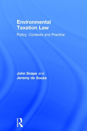 Environmental Taxation Law: Policy, Contexts and Practice, 1st Edition (Hardback) book cover