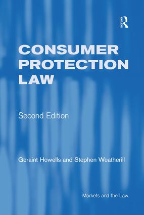 Consumer Protection Law: 2nd Edition (Paperback) book cover