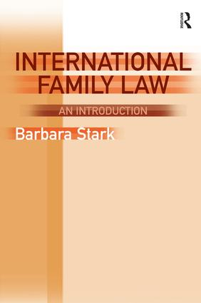 International Family Law: An Introduction book cover