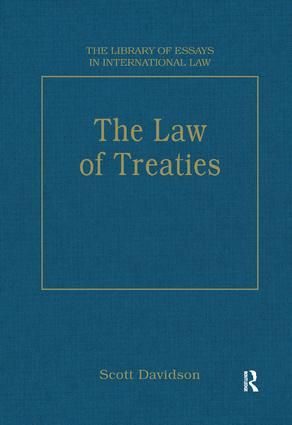 The Law of Treaties: 1st Edition (Hardback) book cover