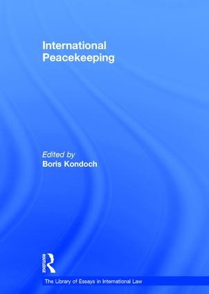 International Peacekeeping: 1st Edition (Hardback) book cover