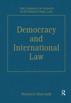 Democracy and International Law book cover