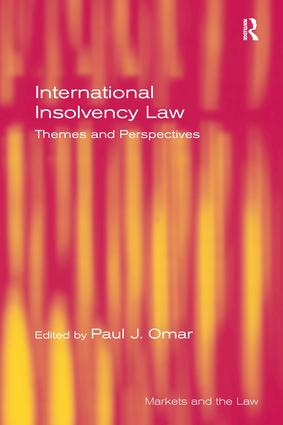 International Insolvency Law: Themes and Perspectives, 1st Edition (Paperback) book cover